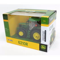 Miniatura Trator John Deere 6210r Escala 1/32 Ertl