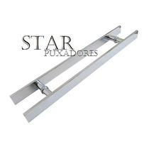 Puxadores Para Porta Blinex (vidro) 30 X24 Escovado