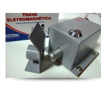 Trava Eletromagnética Trava-tec Te400 12v, 24v, 110v Ou 220v