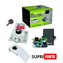Kit 1 Trava Elétrica P/ Portão + Temporizador De Potencia