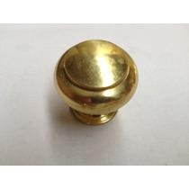 Puxador Armário Quarto/banheiro Latão Dourado Lpe-102/30