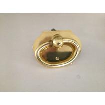 Puxador Armário Quarto/banheiro/banquetas Dourado Colonial