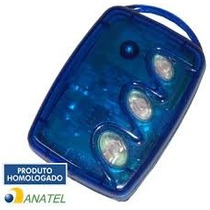 Kit Controle 3 Teclas Linear Hcs 10 Unidades Para Modulo Hcs