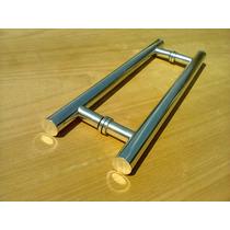 Puxador Tubular Em Alumínio 800x600 Blindex Ou Madeira