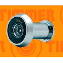 Olho Mágico 200º Timmer Para Portas De 34 A 46mm Cromado