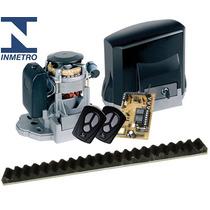 Kit Motor Portão Eletrônico Deslizante Garen 100% Otiginal