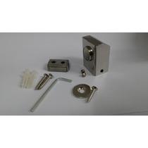 08 - Prendedor De Porta Piso Chão Magnético (imã) 100 % Inox