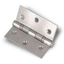 Dobradiça Aço Inox 3 1/2 X 3 Escovado - C Rolamento (15 Pcs)