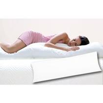Travesseiro De Corpo Siliconado Com Fronha.