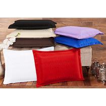 Porta Travesseiro 01 Peça - Microfibra - Bordados Ibitinga