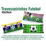 15 Travesseirinhos Almofadas Lembrancinha 40x20 Futebol