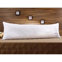 Travesseiro De Corpo Gigante - Com Fronha - Fibra Siliconada