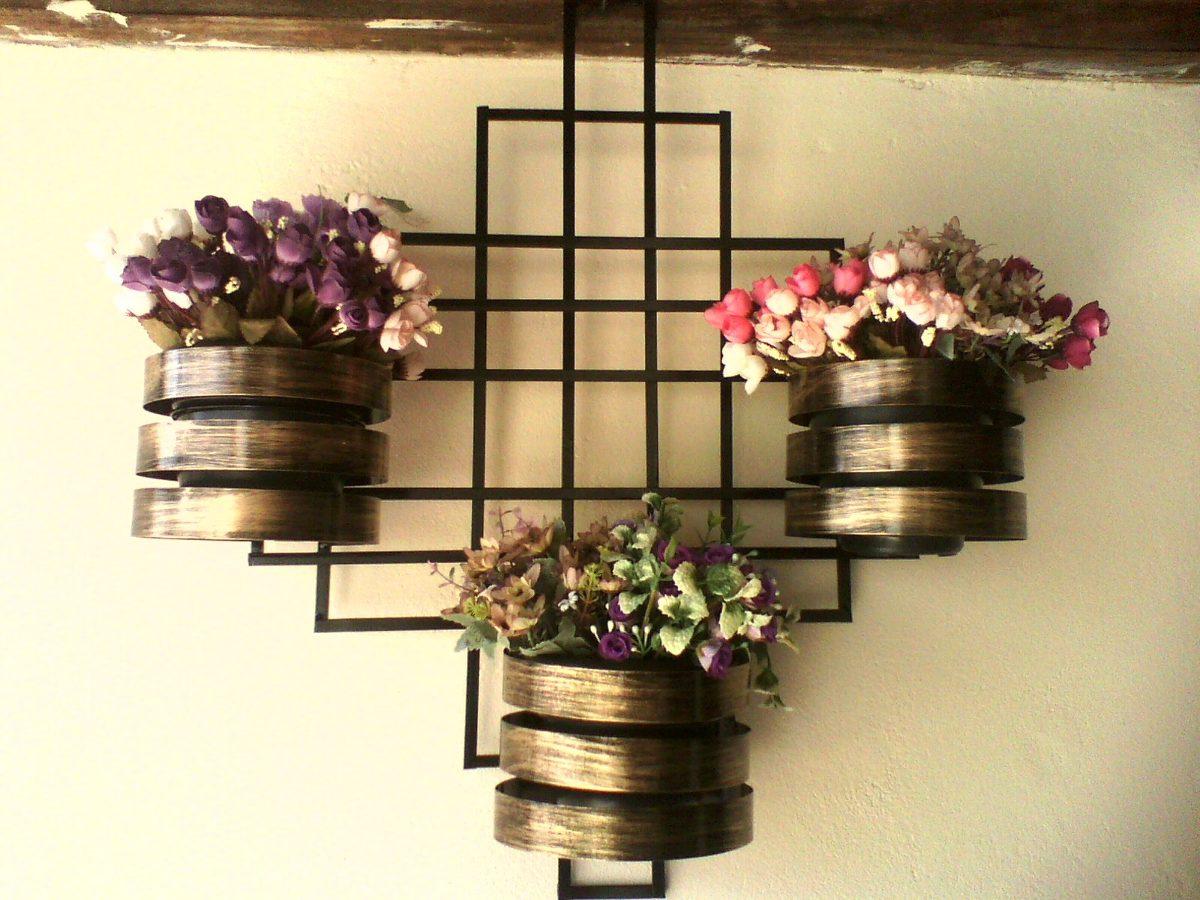 Treli?a Para Jardim Vertical Com Vasos Exclusiva !!!! - R ...