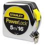 Trena Powerlock Stanley Metalica 5m Metros Profissional