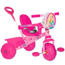 Triciclo De Passeio Smart Barbie - Rosa - Bandeirante