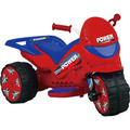 Triciclo Moto Elétrica 6v Infantil 3km/h Vermelho Turbo 1111