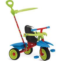 Triciclo Infantil Smart Plus Bandeirante 3 Em 1 Com Capota