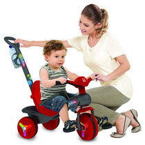 Carrinho De Passeio Bebê Crianças C/ Pedal E Cinto Segurança