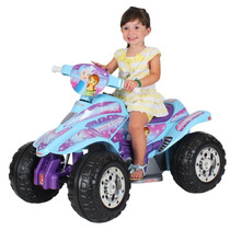 Quadriciclo Elétrico Moto Infantil Dakkar Ice 6v Biemme