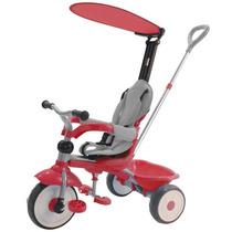 Bicicleta Triciclo Carrinho Confort Ride Vermelho Xalingo