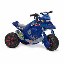 Moto Triciclo Zx-cross Vingadores Elétrica 6v Bandeirante