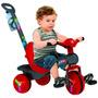 Triciclo Veloban 2 Em 1 Vermelho Bandeirante