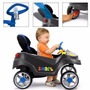 Carrinho Smart Baby Confort Azul - 520 - Bandeirante