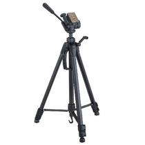 Tripé Cabeça Semi Hidráulica Camera Digital Filmadora Dslr