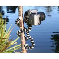 Tripé Flexível Octopus Suporte Para Câmera Fotográfica