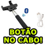 Bastão Selfie Camera Digital Sony Canon Nikon Fuji Samsung