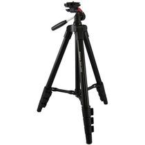 Tripé Universal Leve Só 550gr P/ Camera Filmadora Telescópio