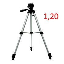 Tripé Universal Aluminio 1.20 Sl2111 Camera Sony Canon Nikon