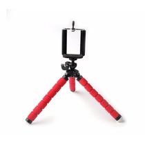 Tripé Flexível Smart Phones Câmera Pequena Produto No Brasil