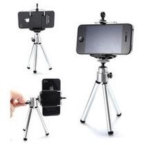 Tripé Com Suporte Para Celular E Camera Digital