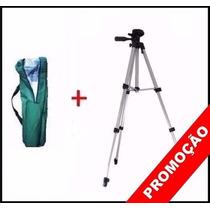Tripe Aluminio Universal 1.80mt Camera Filmadora Telescopio