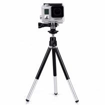 Mini Tripé Com Suporte Para Iphone Samsung E Câmera Digital