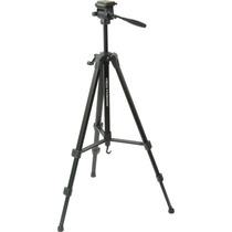 Tripé P/ Câmera Filmadora Nikon Sony Canon 1,55m Supt 3,6kg