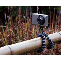 Mini Tripé Flexível Para Câmeras E Celular Universal