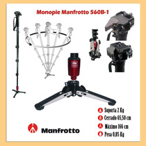 Monopé Profissional Manfrotto 560b-temos Loja Fisica
