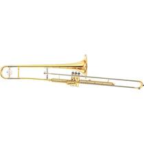 Trombone De Pisto Yamaha Bb (sib) Ysl354v Laqueado