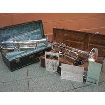 2 Trompetes: Holton (u.s.a.) Yamaha (japan) + Estojo E Bocal