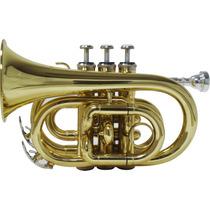 Trompete Shelter Tjs6500l Pocket Sib Laqu.c/estojo 3213