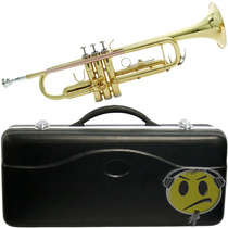Trompete Waldman Dourado Sib Gold Laqueado Case O F E R T A
