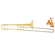 Trombone De Vara Yamaha Ysl 354 E Tenor Sí Bemol Laqueado