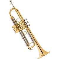 Eagle Tr504 Trompete Sib Acabamento Laqueado - Frete Grátis