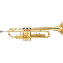 Trompete Yamaha Ytr3335 - Loja Bolero Music Nf E Garantia