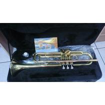 Trompete Quasar Qtr303l Bronze Modelo Profissional Top..