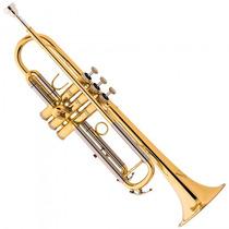 Trompete Sib Eagle Tr-504 L Sib Classic Laqueado - Refinado