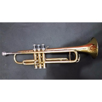 Trompete Huttl Modelo 700 Laqueado Usado! Made In Germany