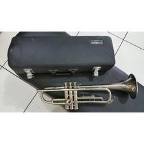 Trompete Yamaha Ytr 1310 Made Japan Níquel...lindo